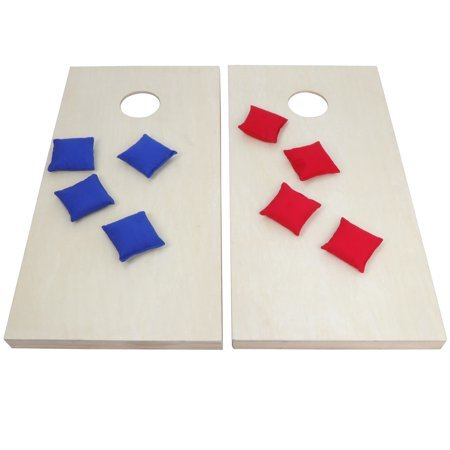 (2) Wood Cornhole Game Boards