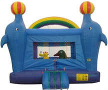 Dolphin Party bounce house