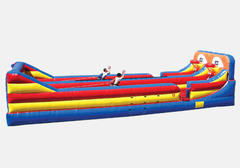 Basketball Bungee Run- 2 lanes
