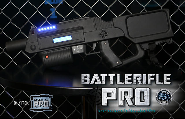 Battle Rifle Pro Platinum Series - Overnight Rental
