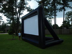 Inflatable Movie Screen 16x9 & Blower - hidden