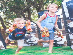 Phoenix Laser Tag + Water Tag ( Overnight Rental)