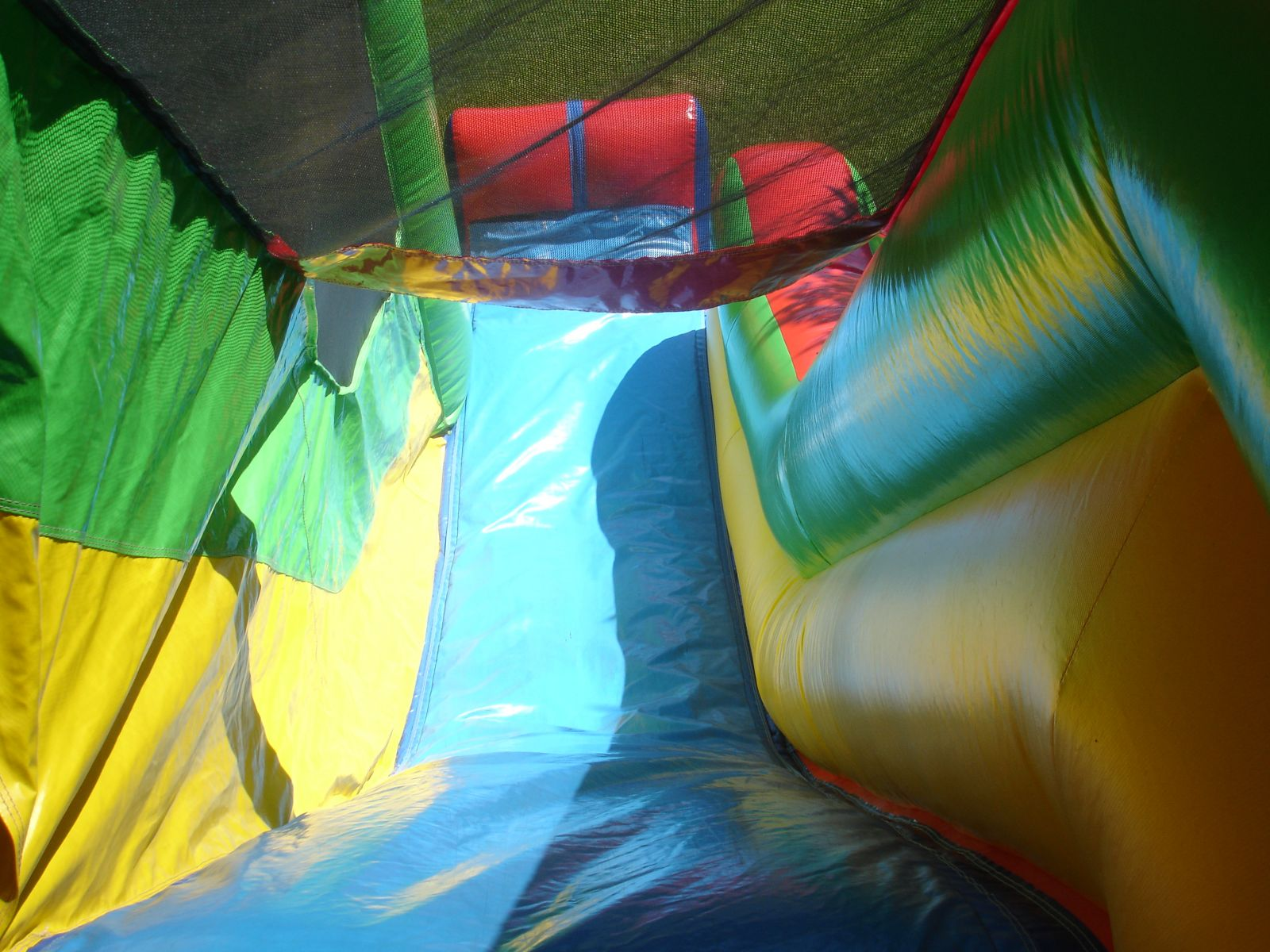 View of Slide from the top of the Castle Combo