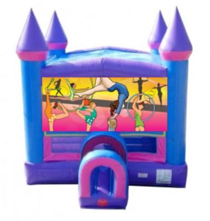 Gymnastics Bounce House