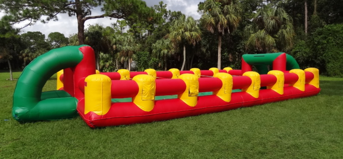 Human Foosball football soccer life-size game