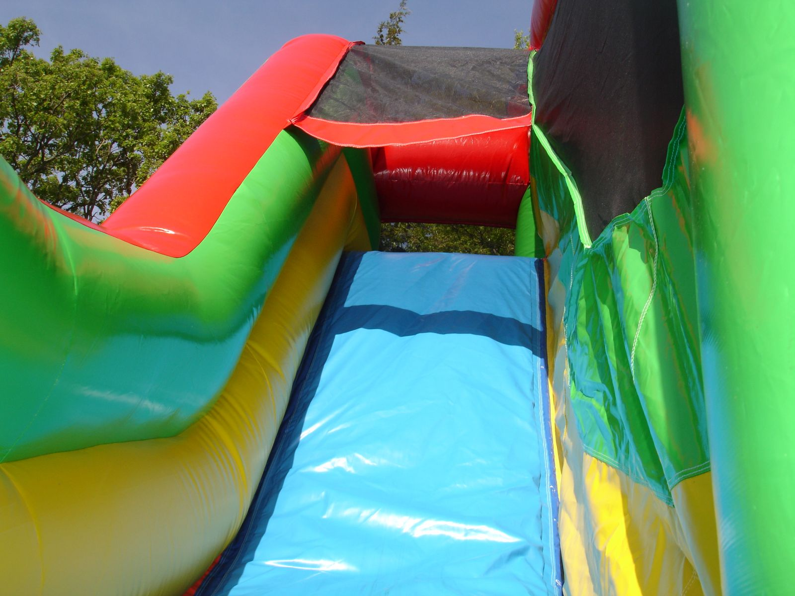 View of the slide on Castle Combo