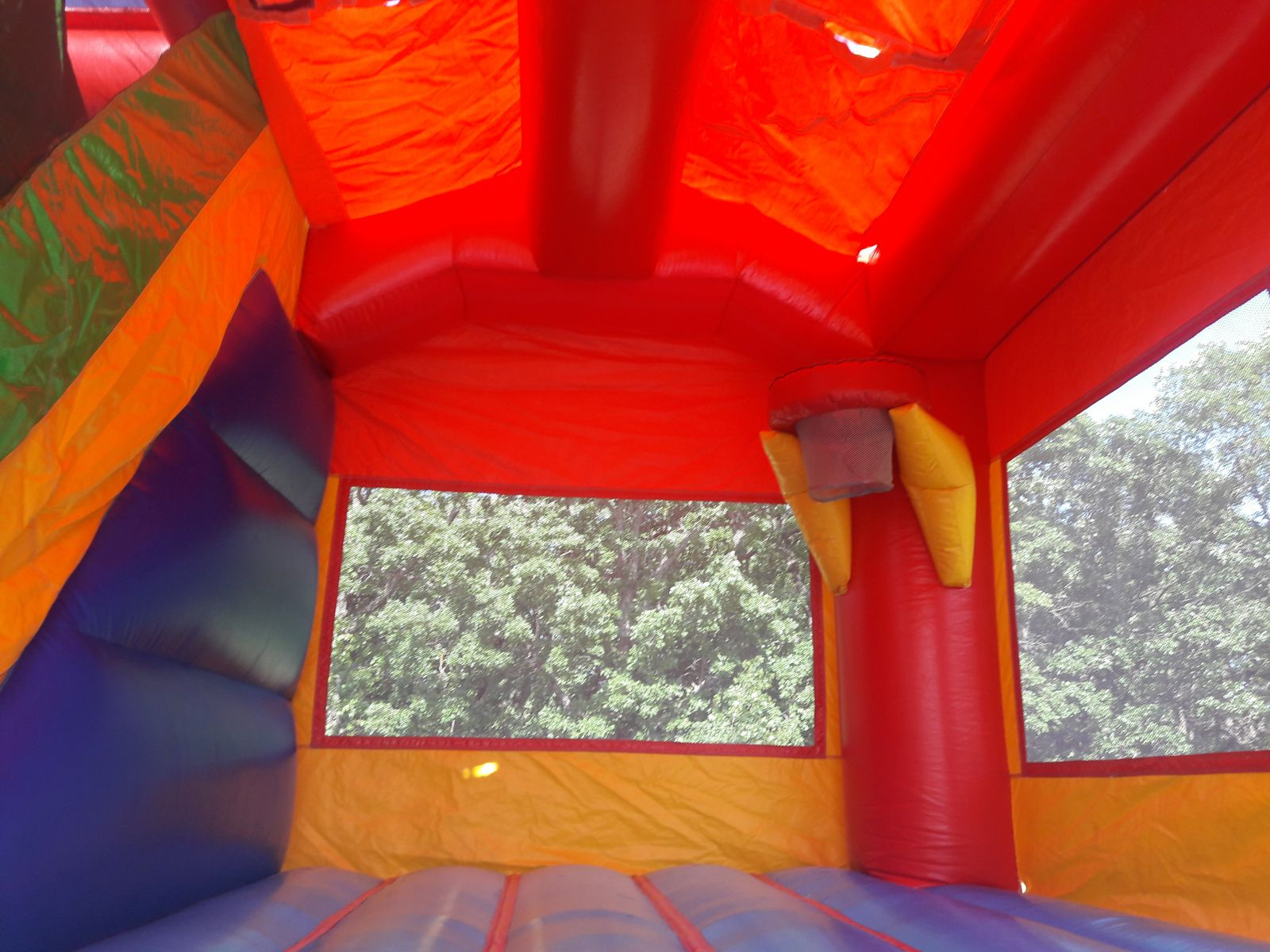 Interior of Castle Combo Inflatable