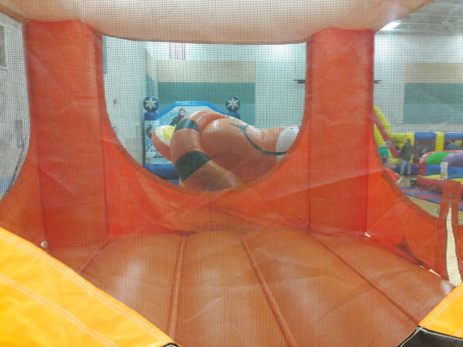 Interior view of the Tiger Belly Bouncer