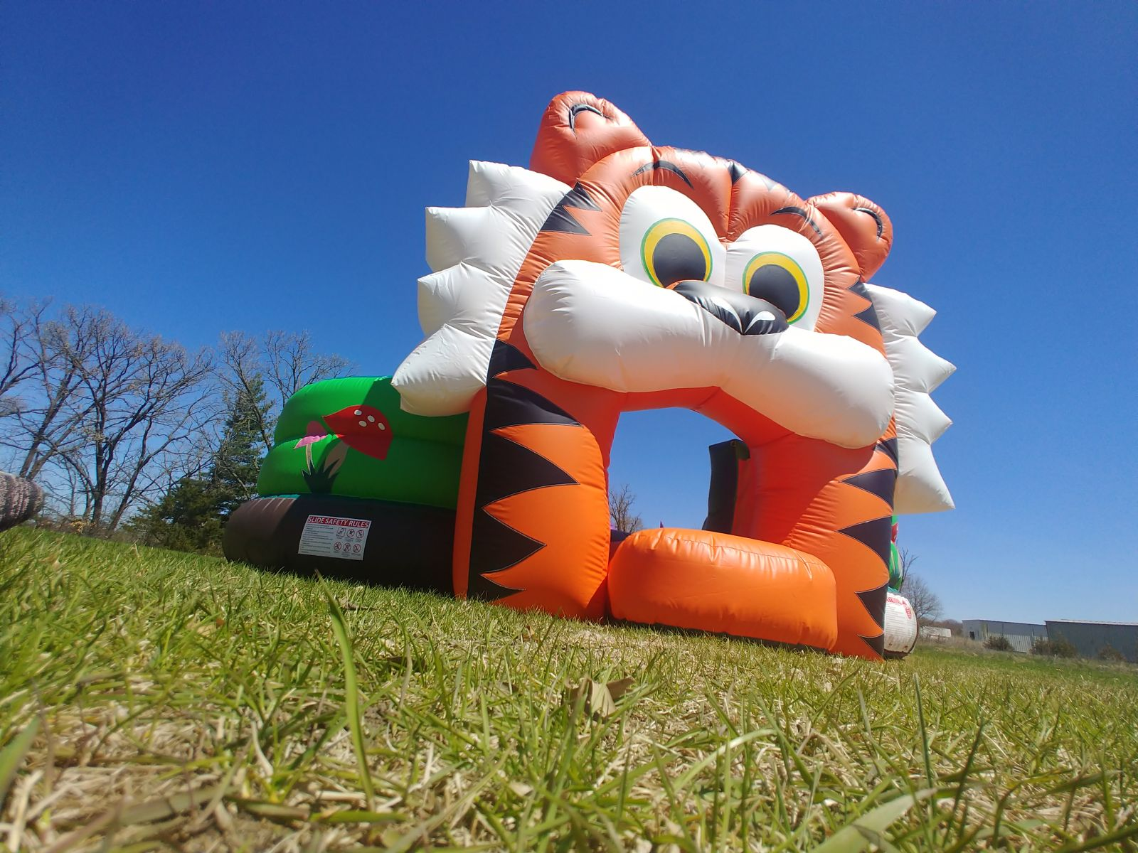 Toddler bounce house playland with slides, tunnels and more