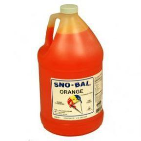 Sno Cone Gallon - Orange