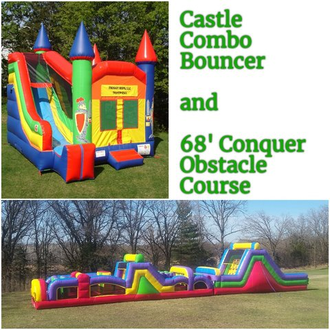 Froggy Hops Llc Bounce House Rentals And Slides For Parties In