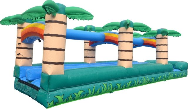 42' Dual-Lane Tropical Slip-n-Slide