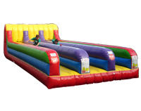 Inflatable 3-Lane Bungee Run