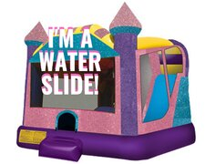 Dazzling Wet Dry Water Slide Combo