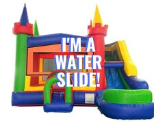 Summer's Epic Water Slide Combo