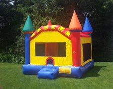 Fun-Filled Castle Bounce House