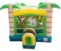 Jungle Animal Bounce House
