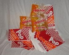 Popcorn Package (3 portion packs & 50 bags)