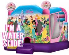 Disney Princess Wet Dry Water Slide Combo