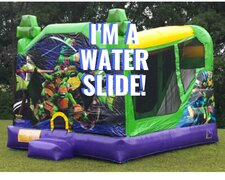 TMNT Wet Dry Water Slide Combo