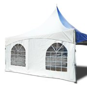 20' Tent Sidewall with Cathedral Windows