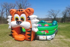 Toddler Tiger Safari Playland