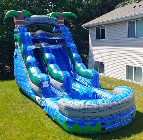 16' Blue Crush Water Slide