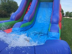 Water Slides and Dunk Tank