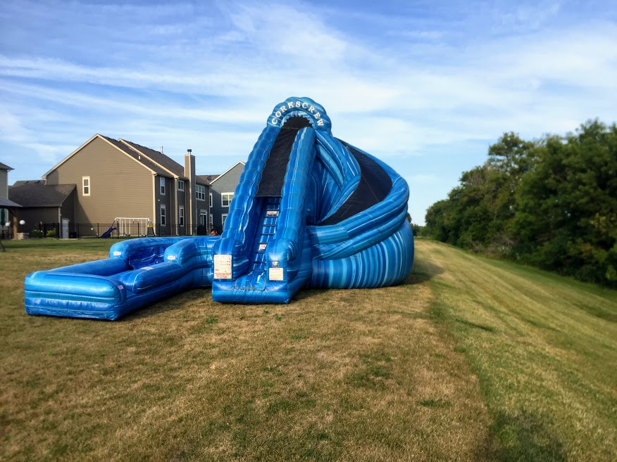 water slide rentals Rockford IL