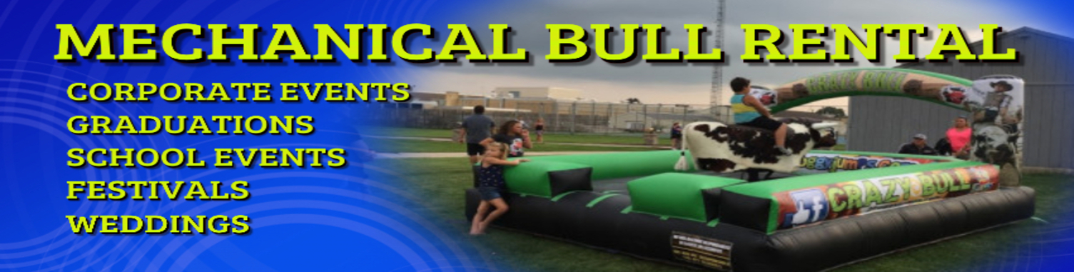Mechanical Bull rental Rockford IL