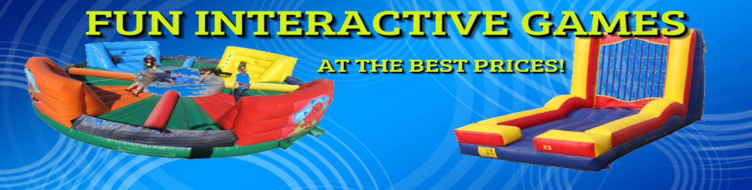 interactive games and mechanical bull rentals Rockford IL
