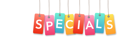 specials at our indoor party play center