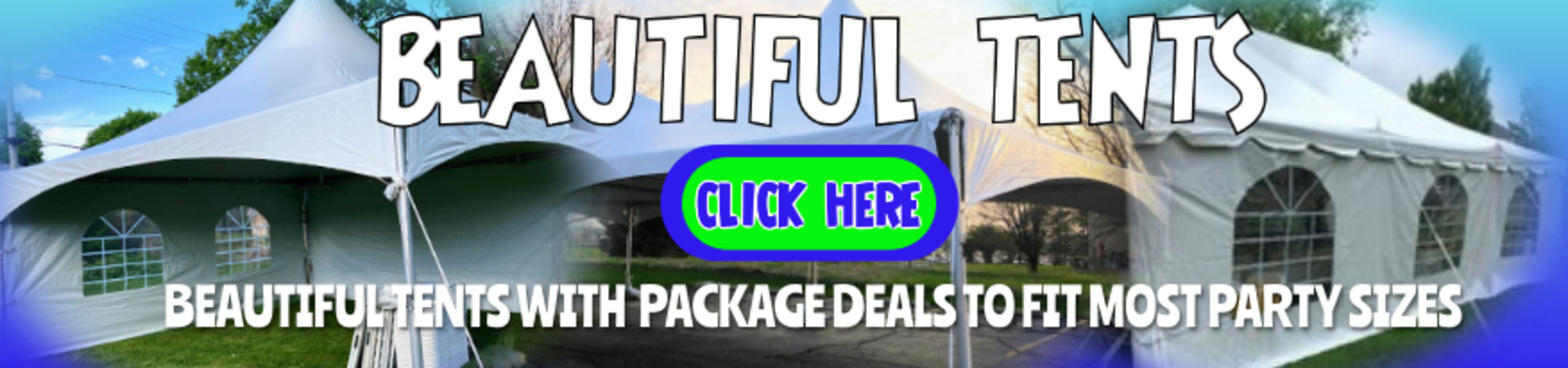 tent package rentals Rockford IL