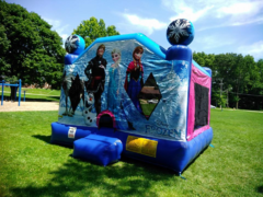 XL Frozen Bounce House