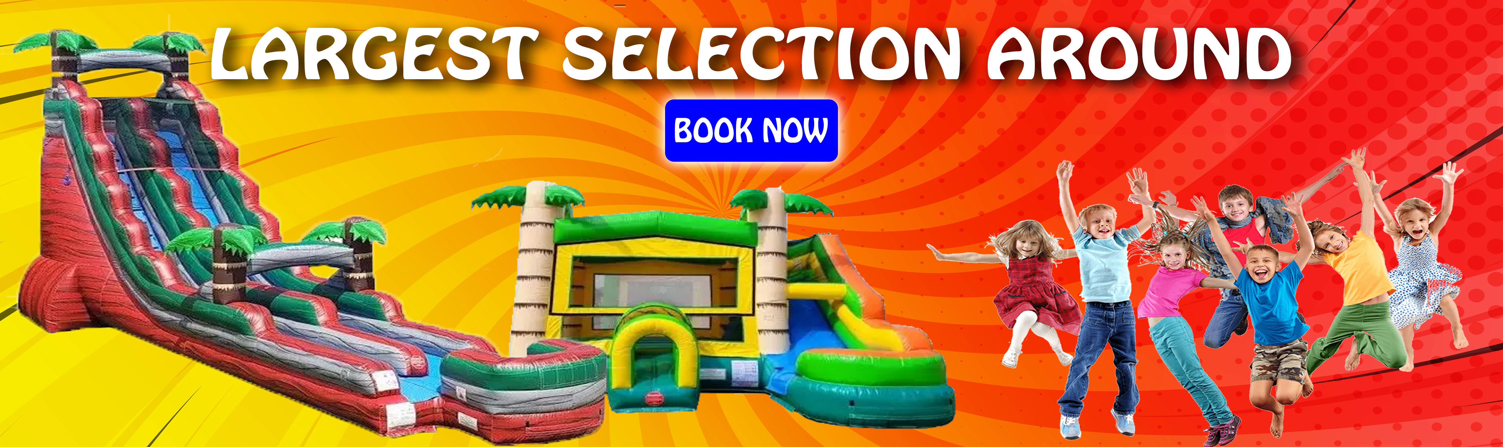 Rent Inflatables in Wayne County, NY