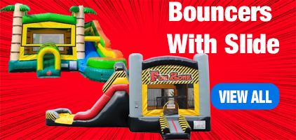 Bouncers with Slides Wayne County NY