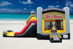 Fun Zone Bouncer With Slide (WET/DRY)