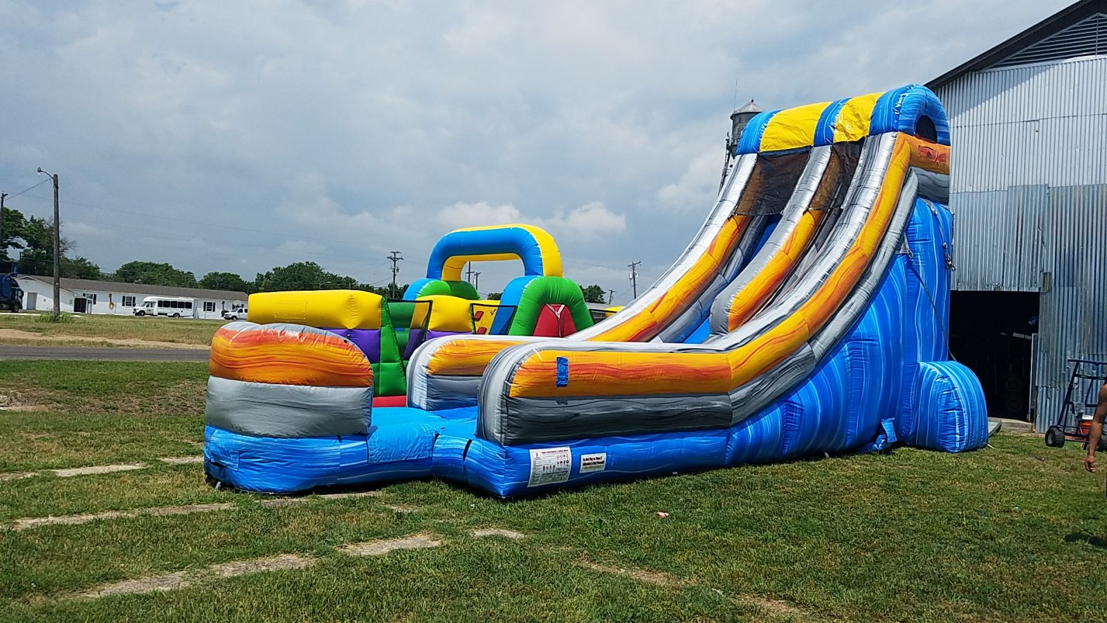 Big Water Slide Rental Dallas, TX