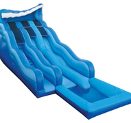 20ft Rip n Dip Dry Slide