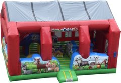 Inflatable Barnyard Petting Zoo