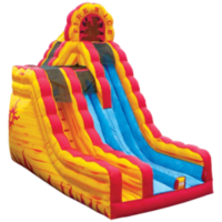 fire n ice dry slide