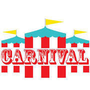 Carnival Package - Includes Carnival Tent 8X8, 2 Games,1 Table 6'