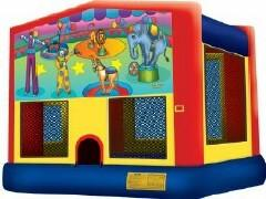 15 ft Circus Bounce House