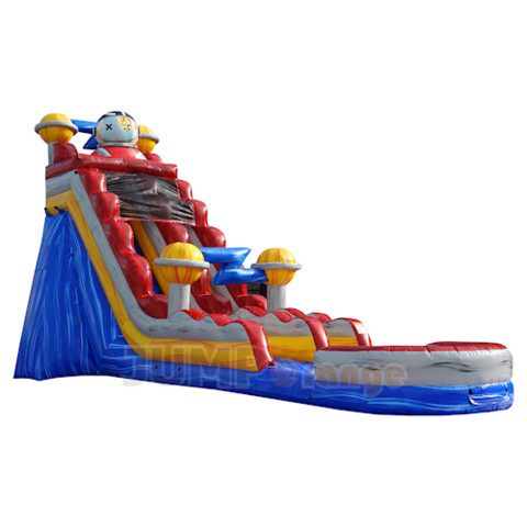 21ft High Space Jam Water Slide