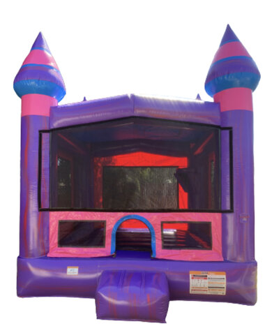 13ft x 13ft Purple marble Bounce houses