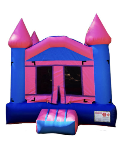 13ft x 13ft Pink/Blue Bounce House
