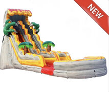 21ft High T-Rex Water Slide