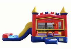 13ft x 22ft Multi-Color See Through Bounce House & splash  Pool