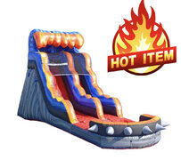 17ft High Hot Lava Water Slide