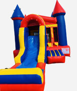 13ft x 20ft Multi Color Front Slide Bounce House